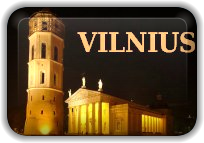 Limo services in night Vilnius